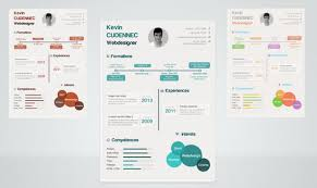 Infographic Resumes 26 Free Resume Templates To Give You That Career Boost Noupe