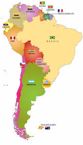 Nord America Map by Flags Of South American Countries Also When You Click On The Flag