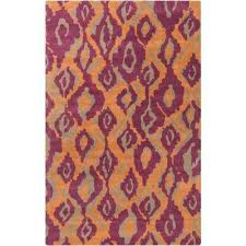Suray Rugs Eggplant Surya Rugs Flooring The Home Depot
