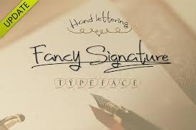 fancy signature truetype font script fonts creative market