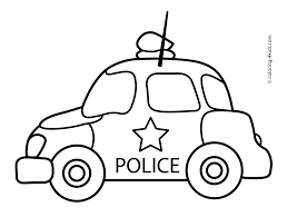 extremely inspiration police car coloring page native american