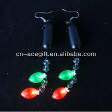 light up christmas earrings light up christmas earrings christmas novelty earrings china