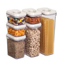 Food Storage Container Sets - honey can do 12 piece locking food storage set kch 06538 the