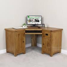 Corner Desk Office by Rustic Oak Corner Desk Office Study Large Computer Table