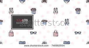 vector hand drawn graphic fashion sketch stock vector 410805754