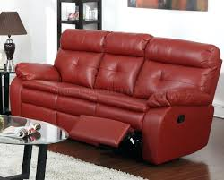 Leather Reclining Sofa Loveseat by Bright In Stock 90 Red Leather Loveseat Recliner Design Ideas