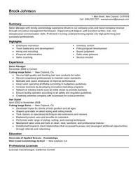 Resume For Spa Manager Impactful Professional Salon Spa Fitness Resume Resume Examples