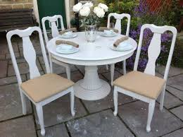 Shabby Chic Dining Table Set Shabby Chic Pedestal Dining Table White Tufted Comfy Fabric Dining