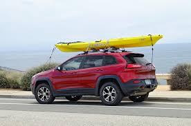 nissan titan kayak rack 2014 jeep cherokee trailhawk review long term update 6