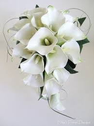 calla lilies bouquet white roses and black calla lillies touch calla and silk