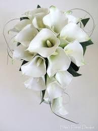 calla bouquet white roses and black calla lillies touch calla and silk