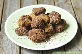 how to make chocolate truffles 10 steps with pictures wikihow