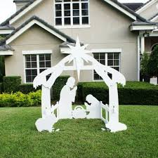 Christmas Yard Decorations Religious by Best Christmas Outdoor Lawn Decorations A Very Cozy Home
