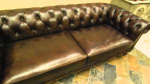 Chesterfield Sofa Sale by Kendle Leather Chesterfield Sofa On Sale Youtube