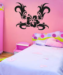 large flower wall decals vinyl flower stickers stickerbrand vinyl wall decal sticker tribal flower os aa271
