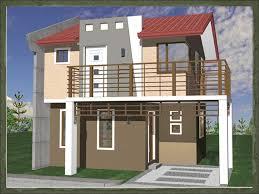 One Bedroom House Designs Onix Dream Home Design Of Lb Lapuz Architects U0026 Builders