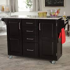 portable kitchen island with seating large concrete tile floor