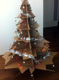 Christmas Tree From Cardboard