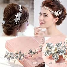 flower headdress headdress fashion wedding jewelry and diamond
