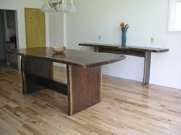 Walnut Slab Table Thick Slab Table Top Construction