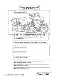 what color is orange where are the toys english pinterest toy worksheets and