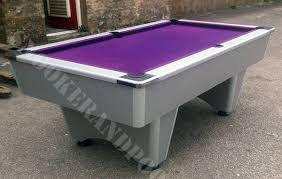 cheap 7ft pool tables 7ft reconditioned slate bed pool table snookerandpool co uk