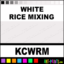 white rice mixing colors tattoo ink paints kcwrm white rice