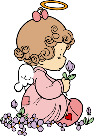 precious moments angel clipart