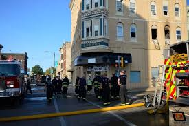 early morning downtown fire in freeport u0027s billerbeck building