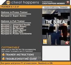 the bureau xcom declassified 1 trainer