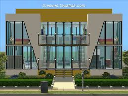 home design modern house floor plans sims 3 beach style compact