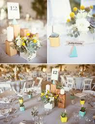 Handmade Centerpieces For Weddings by Modern Handmade Desert Wedding Trisha Justin Green Weddings