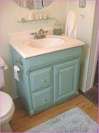 bathroom vanity makeover with chalk paint decor adventures regard