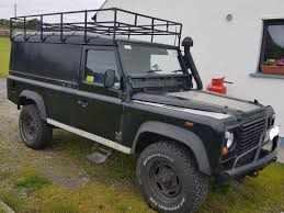 used land rover defender 1987 diesel 2 5 black for sale in donegal