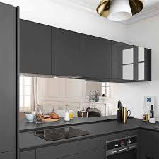 meuble haut cuisine porte basculante idée de modèle de cuisine