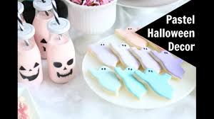 miniature halloween ornaments pastel halloween decor diy tablescape youtube
