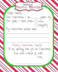 father christmas letter template print business template