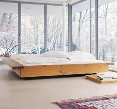 Low Lying Bed Frames Modern Low Level Low Lying Bed Frame Cruelculture