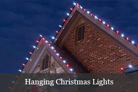 people who hang christmas lights christmas lights ideas for the roof