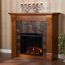 Free Standing Fireplace Screens by Southern Enterprises Caden 45 5 In Freestanding Electric