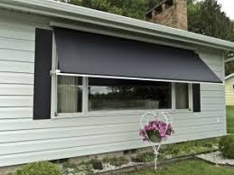 Motorized Awning Retractable Window Awnings