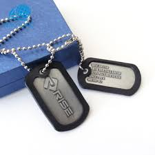 laser engraved dog tags custom high quality cheap laser engraved black dog tags new