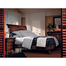 British Colonial Bedroom Furniture British Colonial Sleigh Bed Beds At Hayneedle
