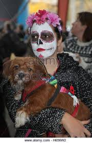 Mexican Woman Halloween Costume Mexican Woman Dressed Costume Stock Photos U0026 Mexican Woman