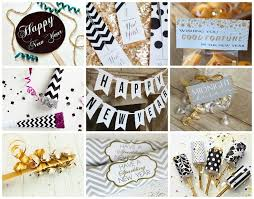 New Years Eve Decorations Printables by 39 Best New Years Images On Pinterest New Years Eve Party