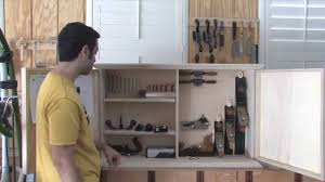 Tool Cabinet Wood 154 How To Build A Wall Hanging Tool Chest Part 3 Of 3 Youtube