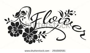 Flowers Designs For Drawing Hand Drawn Border Made Flowers Floral Stock Vector 580053943