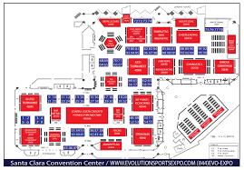 expo floor plan evolution sports expo