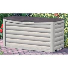storage extra large deck box wooden deck box rubbermaid