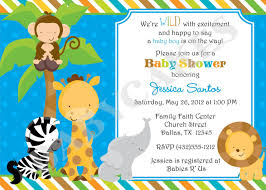 top 15 free printable safari baby shower invitations for your